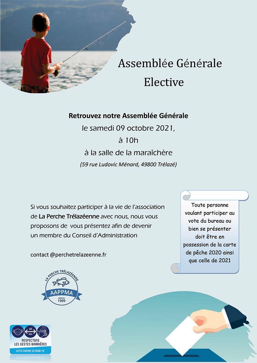 Assemblée Générale Perche Trélazéenne octobre 2021